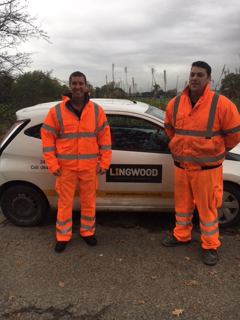 Alan Lingwood Director with Robert Dickin, one of our mobile drivers at Amey Sersa, Bolton